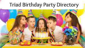 birthday party directory triad moms on main greensboro