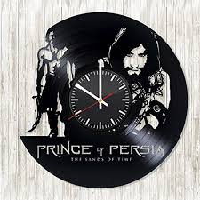 amazon com prince of persia handmade vinyl wall clock get