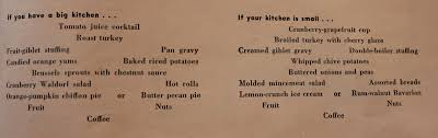 thanksgiving menu planning jen but never jenn american thanksgiving 1940s 1950s u0026 1960s