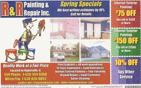 coupons r u0026 r painting and repair inc in naperville il
