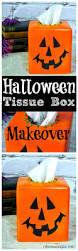 spooky halloween lettering halloween tissue box cover makeover tissue box covers box