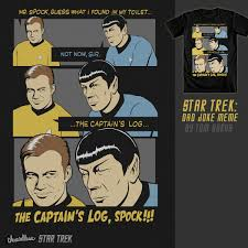 Meme Joke - score star trek dad joke meme by tomburns on threadless