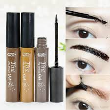 light brown gel eyeliner etude house tint my brow gel eyebrow enhancers dark brow light brown