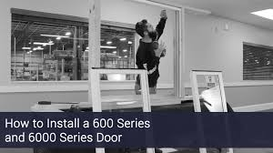 installation of sliding glass doors sliding glass door eastern architectural systems