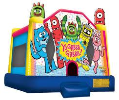 yo gabba gabba bounce house airbounce amusements