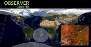 imagenes satelitales live imágenes satélite en tiempo real con observer far earth gis beers