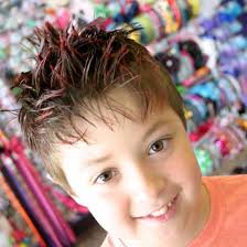 kids spike hairstyle fashionable hairstyles for little boys 2017 hairstylesco