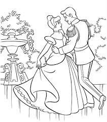 Cinderella S Coach Cinderella S Coach Coloring Page The Cinderella Princess