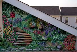 Garden Mural Ideas Garden Wall Murals Ideas Wall Murals Ideas