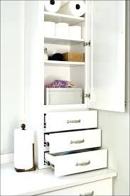 Bathroom Storage Cabinets Floor Oak Bathroom Wall Cabinet Mirror Telecure Me