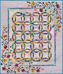 Wedding Ring Quilt by Quilt Inspiration Wedding Ring Quilts Part 2 Judy Niemeyer Designs