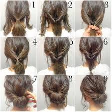 Hochsteckfrisurenen F Kurze Haare Bilder by Haare Styles Hochsteckfrisuren Mit Kurzen Haaren Haare Styles
