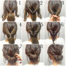 Hochsteckfrisurenen Lockige Haare by Haare Styles Hochsteckfrisuren Mit Kurzen Haaren Haare Styles