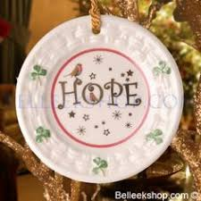 belleek merry tree ornament belleek