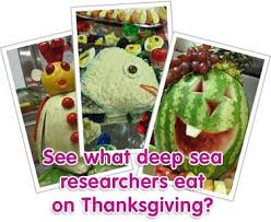 thanksgiving at sea science buzz