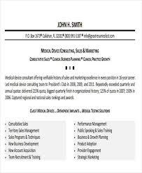Medical Device Sales Resume Sample by 27 Sales Resume Templates In Pdf Free U0026 Premium Templates