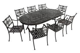 Aluminium Patio Table White Cast Aluminum Patio Furniture Cast Aluminum Table Metal