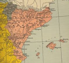 Map Spain Index Of Genealogy History Maps Spain