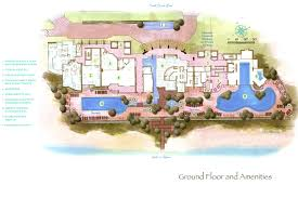 multi family house floor plans aqua beachside resort charlan brock associates architects