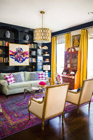 Simplified Bee by In This Wildly Colorful Living Room Hisugarplum Worked With