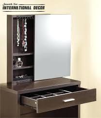 bedroom set with vanity table storage vanity table bedroom furniture dark brown dressing table