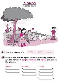 grade 2 grammar lesson 4 nouns u2013 common nouns 1 places to