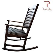 Patio Furniture Rocking Chair Rocking Chair Rockie Black Thinh Phu Furniture