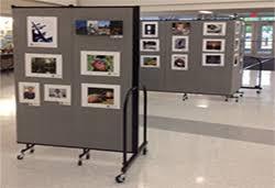 display art art display panels art display systems screenflex