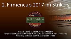 Schwapp Bad Strikers Bowling Company Fürstenwalde Spree