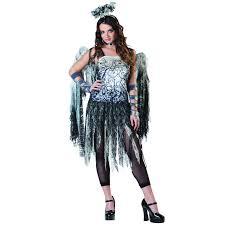 ladies black dark angel fairy halloween fancy dress