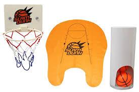 petit panier de basket pour chambre basket toilette jeu de basket wc insolite