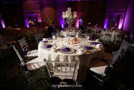 clear chiavari chairs shingle creek lavon and adrian s purple glam wedding a
