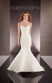 martini mermaid custom designer wedding dress martina liana wedding dresses