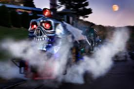 halloween train rides