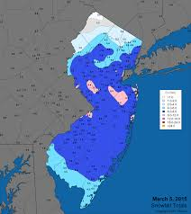 Map Of Middlesex County Nj Office Of The New Jersey State Climatologist