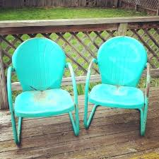 vintage lawn furniture vintage outdoor metal chairs shanni me