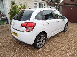 citroen c3 exclusive white 2010 manual low milage one lady