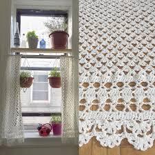 crochet curtain cortina ganchillo crochet ganchillo