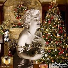 Marilyn Monroe Christmas Ornaments - marilyn monroe christmas tree merry christmas from marilyn for