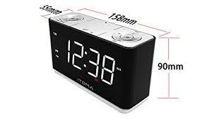 clock radio with night light itoma alarm clock radio digital fm radio dual alarm cell phone