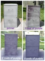 painting metal file cabinets beautiful painting metal cabinets on metal filing cabinet update how