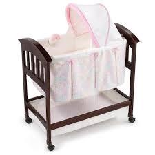 Comfort Classic Summer Infant Classic Comfort Wood Bassinet Bedtime Blossom