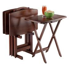 target tv snack tables furniture attractive folding tray table set with pinterest the