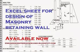 Concrete Retaining Wall Design Example Home Design Ideas - Retaining wall engineering design