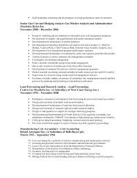 sle resume cost accounting managerial approach exles of resignation accounting resume keywords