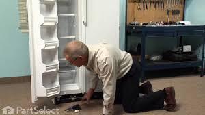 refrigerator repair replacing the light switch ge part