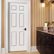 home depot 6 panel interior door jeld wen textured 6 panel primed composite molded bored interior