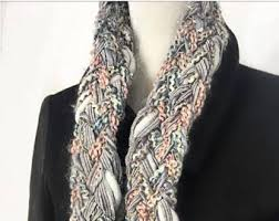 braided scarf braided scarf etsy