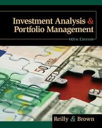 investment analysis and portfolio management 10th edition
