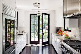 Galley Kitchen Photos 9 Beautiful Black And White Kitchens From The Ad Archives Photos